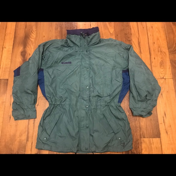Columbia Jackets & Blazers - Vintage Columbia Long Peek Jacket